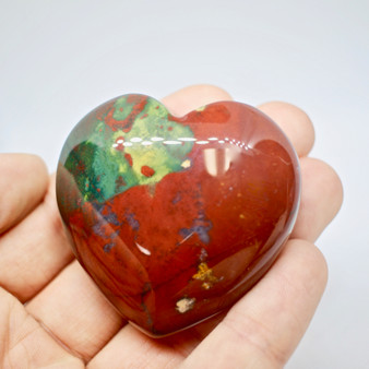Heart Shaped Bloodstone