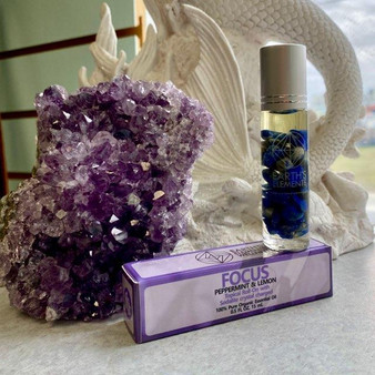 Essential Oil Crystal infused Roll-ons