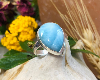 Larimar Sterling Silver Size 7