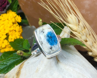 K2 Azurite Sterling Silver Size 7