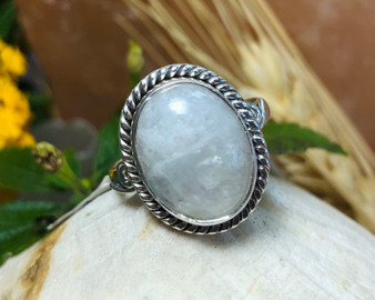 Moonstone Sterling Silver 7.5