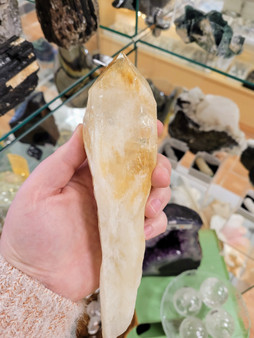 Large Citrine Wand