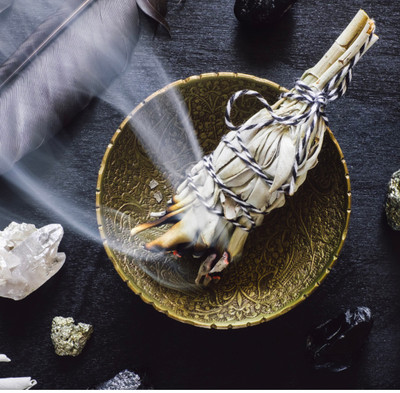 How to Burn Sage to Purge Negative Energy