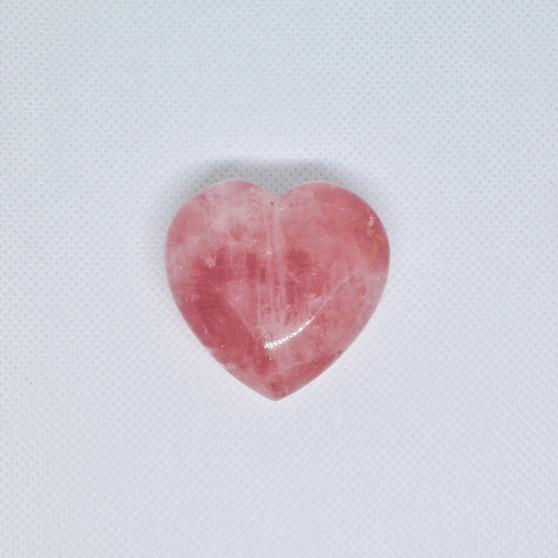 Heart Shaped Rose Quartz