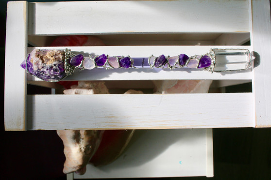 Unconditional Love Crystal Wand