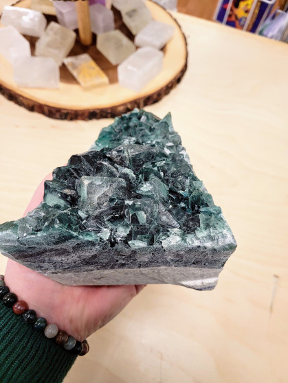 Green Fluorite from Madagascar