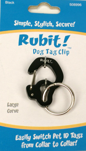 Large Curve Dog Tag Clip