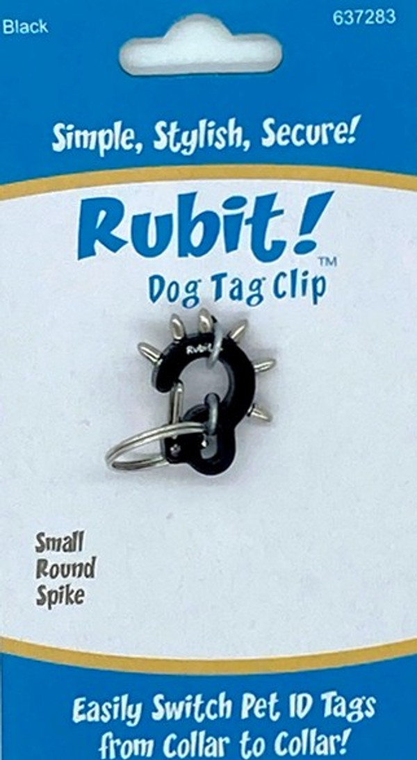 Small Spike Dog Tag Clip