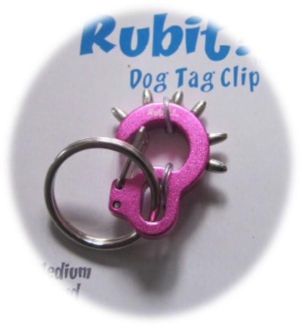 Medium Spike Dog Tag Clip