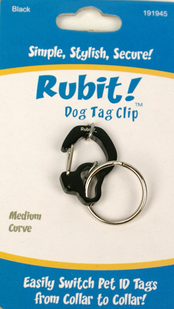 Medium Curve Dog Tag Clip