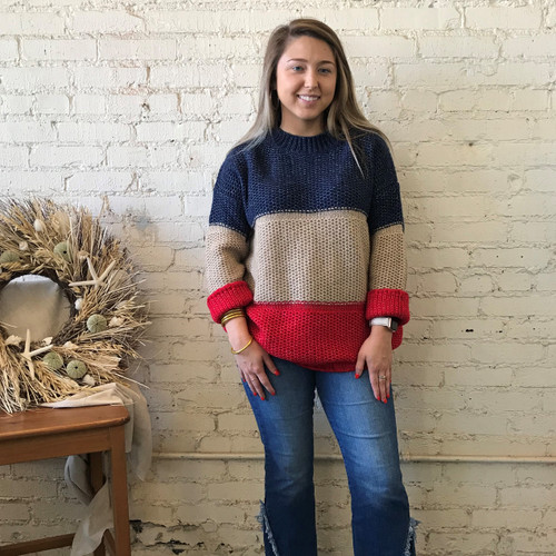 Beaver Lake Cableknit Sweater