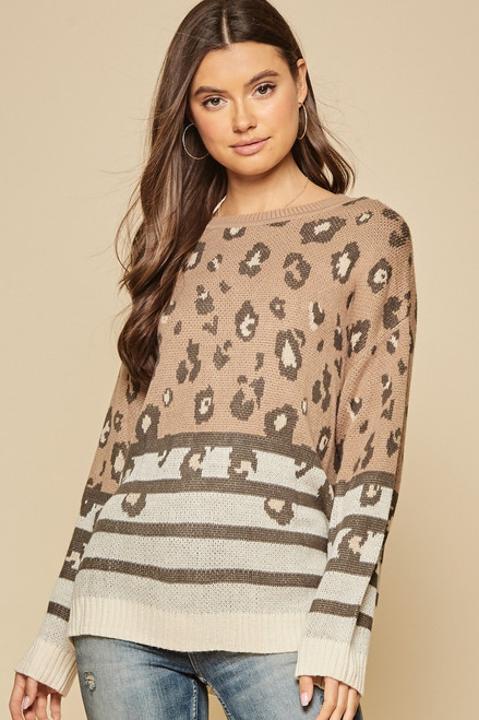 Ashford Pass Leopard Sweater