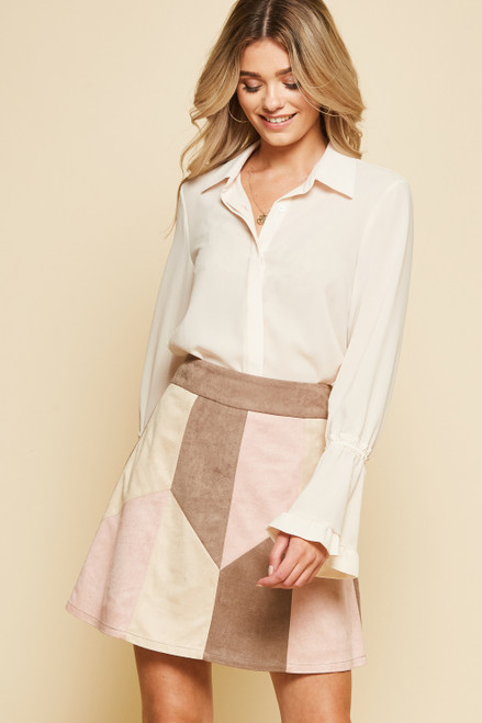 Bellevue Block Skirt