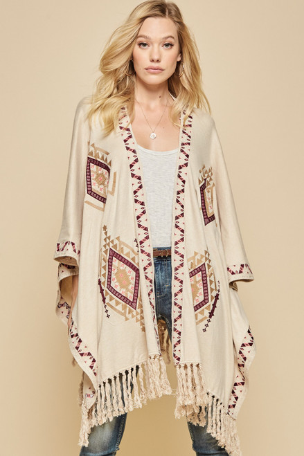 Battalina Creek Poncho