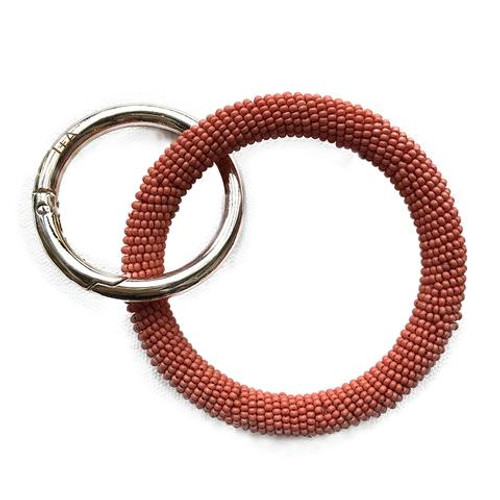 Seed Bead Key Bangle