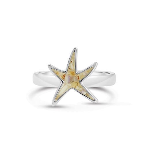 Delicate Starfish Ring 7