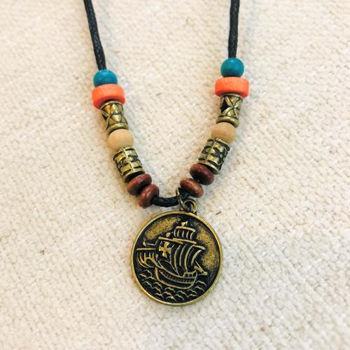 Pirate Treasure Beaded Necklace
