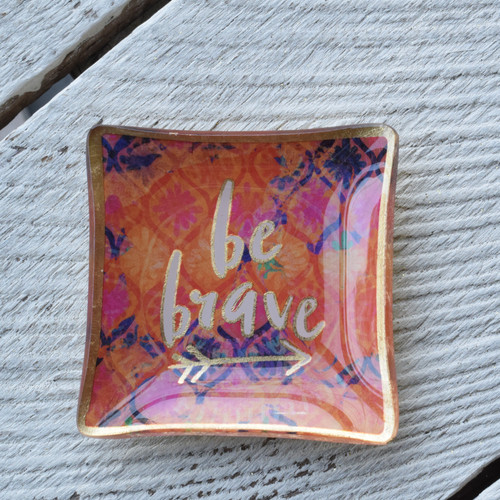 Be Brave Trinket Tray