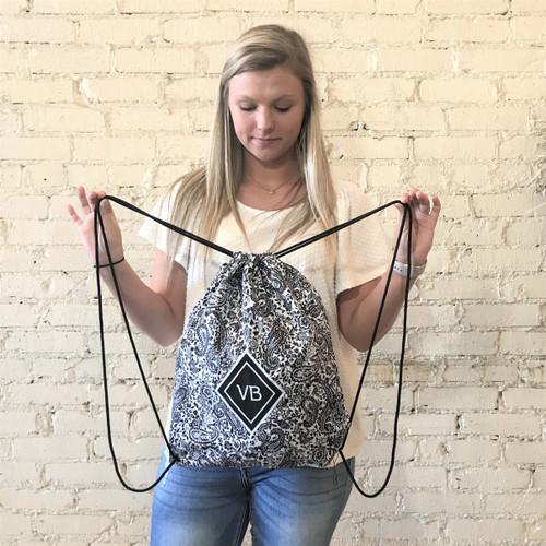 Drawstring Backsack Eden Black