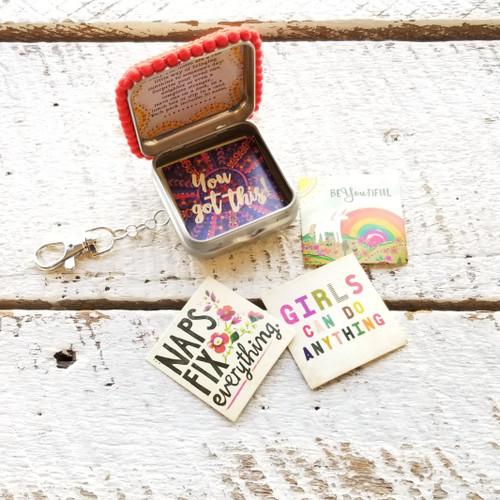 Live Happy Tiny Tin Happy Notes