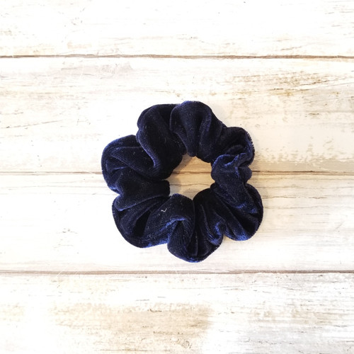 Velvet Hair Cloud - Navy