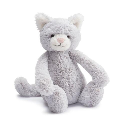 Bashful Grey Kitty