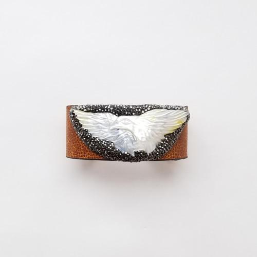 Halia Carved Cuff