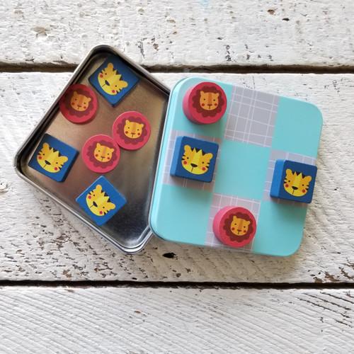Magnetic Tic Tac Toe Sets Zoo