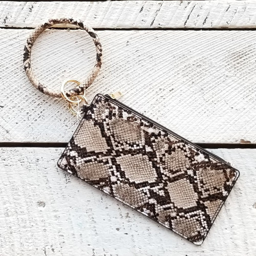 Agkist Copperhead Bangle Wristlet - Python