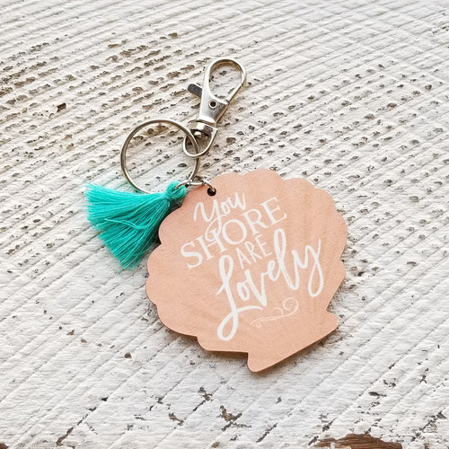 You Shore Keychain