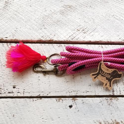 Dog Leash - Pink 6 Feet