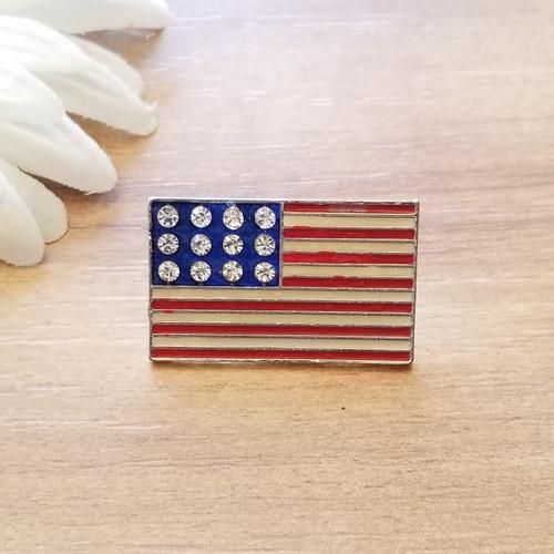 Bee Patriotic Pin