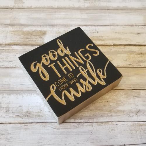 Box Sign - Good Things