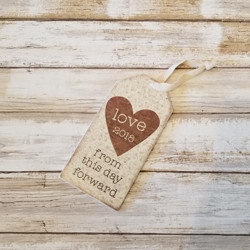 Bottle Tag- Love