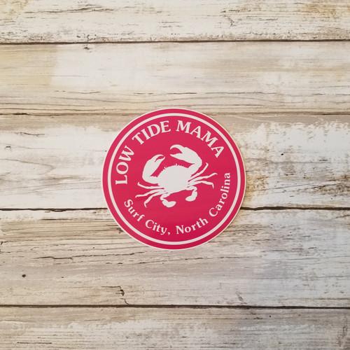 Low Tide Surf City Sticker