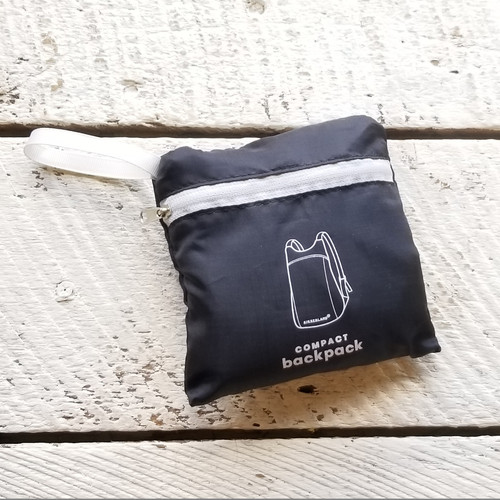 Compact Backpack Black