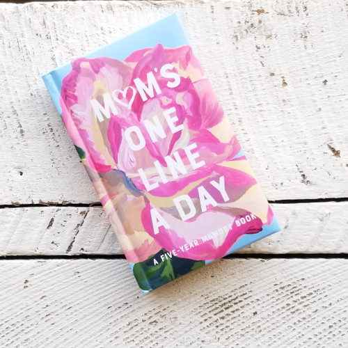 Mom's One Line A Day - Floral Cover