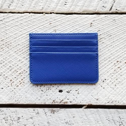 The Canis Card Holder - Cobalt Blue