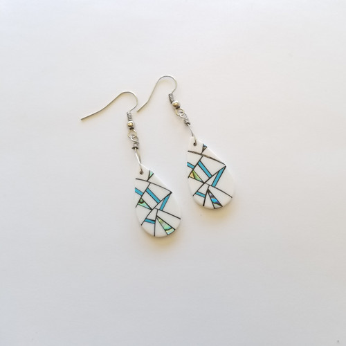 Lumbee Oval Earrings