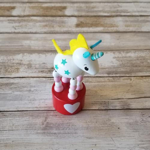 Wooden Magic Unicorn Press-Ups