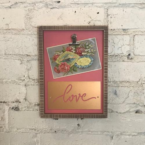 Box Frame - Pink Love
