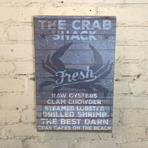 Box Sign Crab Shack