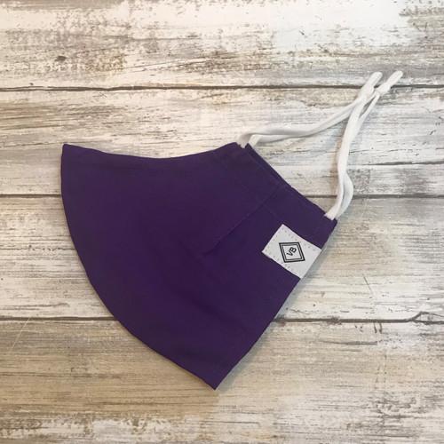 Cotton Face Mask - Iona Purple