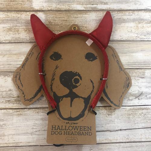 Devil Costume Dog Headband