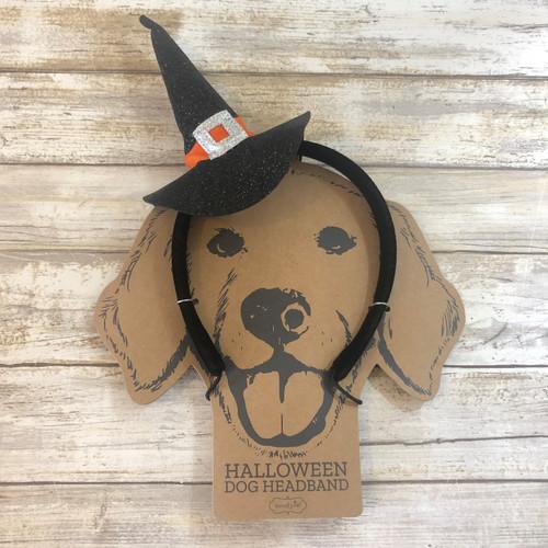 Costume Witch Dog Headband