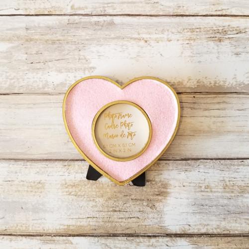 Pink Glitter Heart Frames