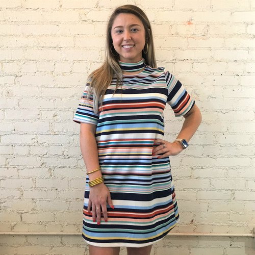 Jackie Metro Stripe Dress