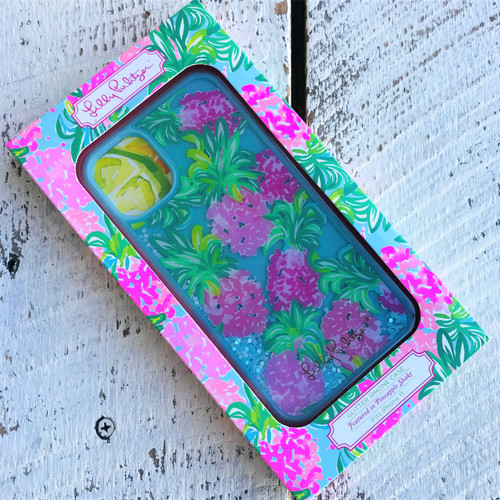 Glitter Phone Case - iPhone 11 - Pineapple Shake