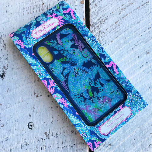 Glitter Phone Case - iPhone XS - Turtle Villa