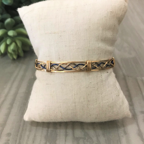 Thin Blue Line Bracelet 7 inch
